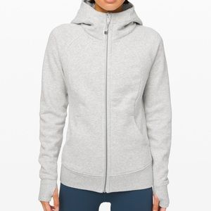 Heathered Grey Lululemon Scuba Hoodie!!